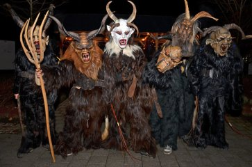 7 Krampus di Sillian