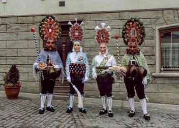 9 Roller e Scheller di Imst con il Gröll e il Gschall