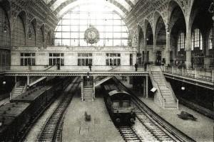 2 Stazione di Parigi di fine Ottocento