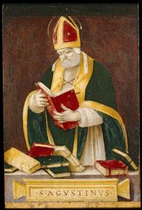 3 Sant'Agostino ed il problema del tempo. Quadro di Filippino Lippi