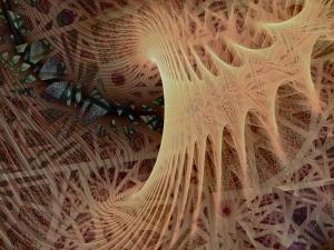 4 Fitta rete di maglie spazio-dimensionale prevista dalla teoria Loop quantum gravity