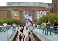 4 Tate Modern_s Street Art Exibition. Faile tender forever tate