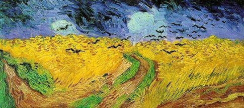 1 Van Gogh Campo di grano con i corvi 1890