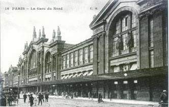 14 Paris Gare du Nord, fine XIX secolo