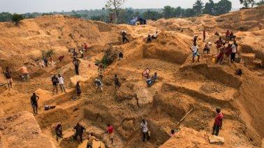 7 Minatori africani in Sierra Leone